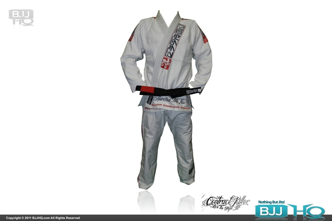 Contract Killer Competitor White Gi
